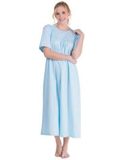 Calida Nightgown Cotton Short Sleeve Ballet