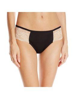 Women's One Smooth U Comfort Indulgence Satin With Lace Bikini