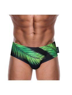 Danny Miami Men's Swimwear - Swim Briefs - Designer Bikini Swimsuit with Short Low Rise Trunk Cut - Made in USA - New