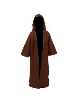 H&ZY Unisex Tunic Halloween Robe Hooded Cloak Costume