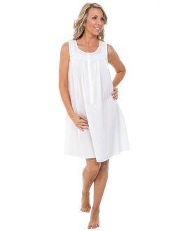 Womens 100% Cotton Lawn Sleepwear, Nighgown Or Pj Set