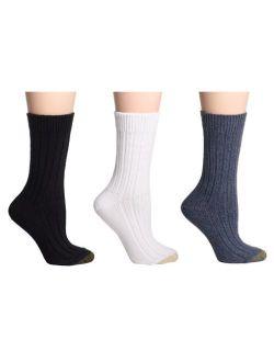 Gold Toe Women's Weekender Socks, 3 Pairs