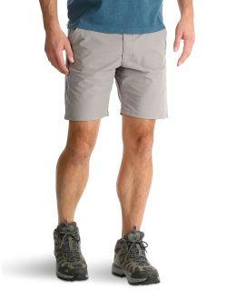 Men's Flat Front Shorts Outdoor Back Elastic