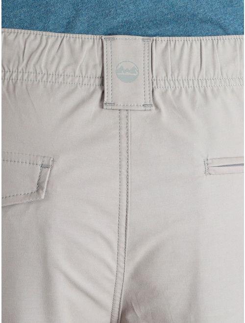 Wrangler Men's Flat Front Shorts Outdoor Back Elastic