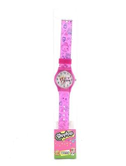 Party Favors Moose Shopkins Girl's LED Digital Light Up Pink Watch