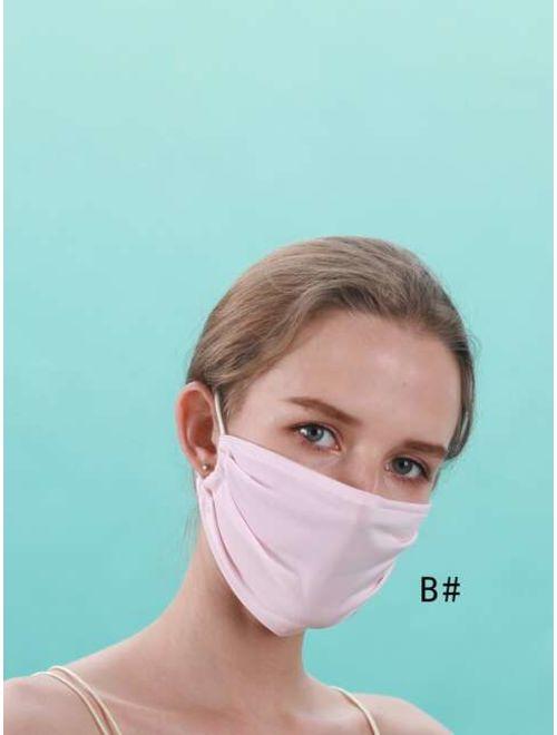 Plain Sunscreen Mouth Mask 1pc