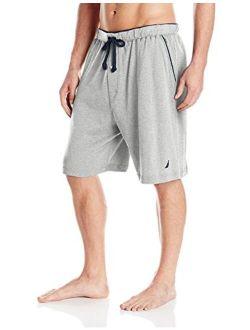 Men's Soft Knit Elastic Waistband Sleep Lounge Short