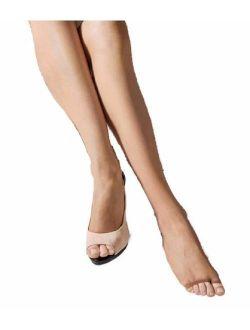 Marilyn Womens Peep Toe Toeless Pantyhose