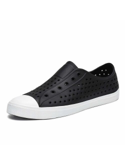 Mens Womens Kids Casual Sneaker Slip-on Breathable Garden Clogs Beach Water Shoes