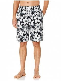 Surfing Quick Dry Athletic Durable Training Swim Trunks HISKYWIN 6//9 Inseam Mens Jammer Shorts UPF 50