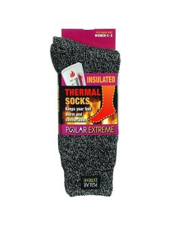 Womens Polar Extreme Moisture Wicking Insulated Thermal Socks in 13 Great Styles