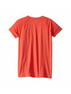 Kids Big Logo Tee Solid Short Sleeve (big Kids) Daiquiri/beta Red