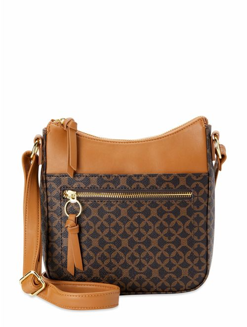 Time and Tru North/South Crossbody Bag