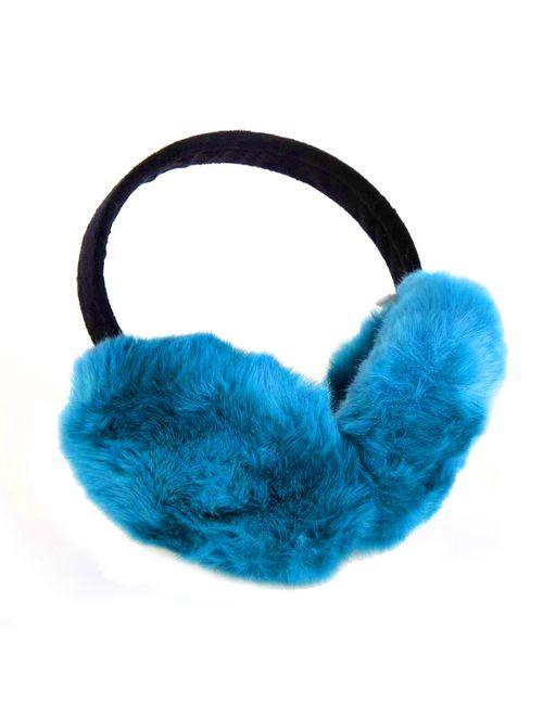 ChikaMika Foldable Ear Warmers Super Warm Winter Earmuff For Women