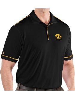 Men's Iowa Hawkeyes Salute Performance Black Polo