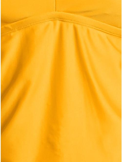Time and Tru Women's Plus Size Keyhole Tankini Swimsuit Top