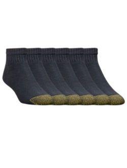 Ld Toe Cotton Quarter Extended 656pe (6 Pairs)