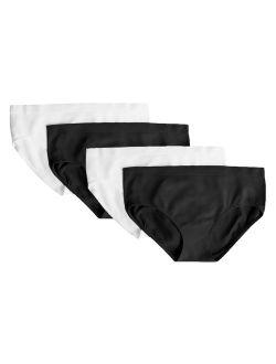 Girls Santoni Bikini Underwear, 4 Pack Panties (little Girls & Big Girls)