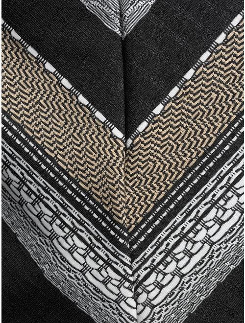 Time and Tru Women's Tulum Texture Stripe Tankini Swimsuit Top