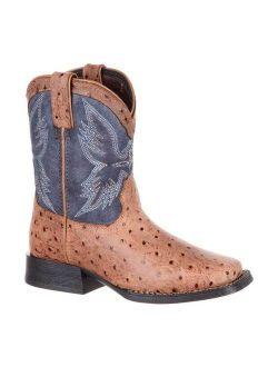 N's Durango Boot Dbt0190y Lil' Mustang Big Kid 7