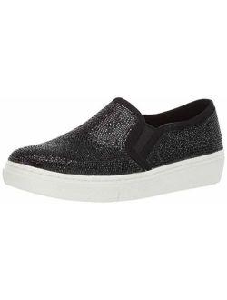 Women's Goldie-flashow Sneaker, Black, 6.5 M Us