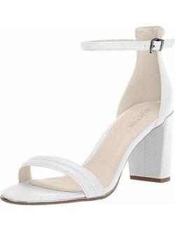 Women's Lolita Open Toe Strap Block Heel Sandal