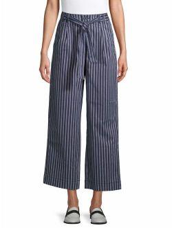 Women's Self Belt Soft Pants