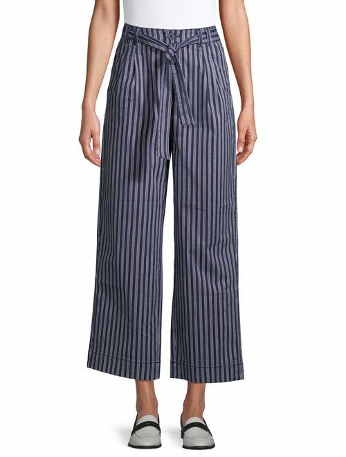 Time and Tru Women's Self Belt Soft Pants