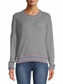Women's Waffle Ringer Sweatshirt