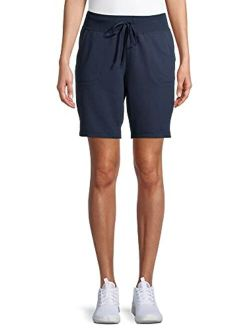 """Women's Athleisure 7"""" Bermuda With Pockets And Side Vents"""