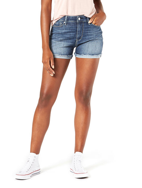 Signature by Levi Strauss & Co. Women's High-Rise Shorts