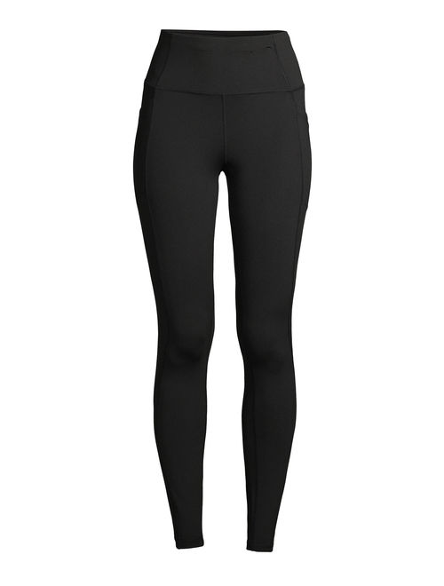 Avia Women's Performance Ankle Tights with Side Pockets