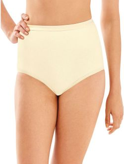 Womens Full Cut Fit Cotton Brief Style-2324