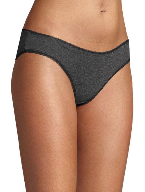 Secret Treasures Women's Bikini Panties, 9-Pack