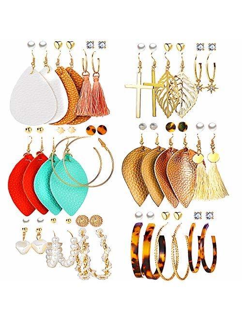Tassel Dangle Earrings girls dangle Earrings Hoop Tassel dangle Clip on earrings Tassel Earrings Clip on Hoop earrings