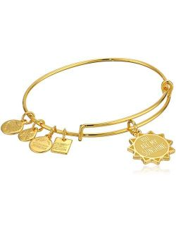 Alex and Ani Women's Charity by Design You are My Sunshine Bangle