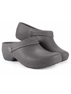Boaonda Comfortable Clogs for Women - Bio Synthetic Clogs - Nursing/Work Shoes