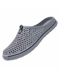 Ryanmay Womens Mens Comfortable Walking Garden Shoes Slippers Quick Drying Sa.