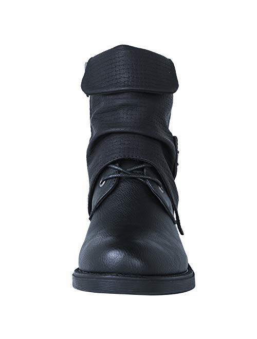 GLOBALWIN Women's 18YY18 Fashion Ankle Boots
