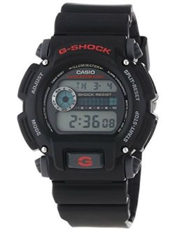 Men's 'g-shock' Quartz Resin Sport Watch Dw9052-1vcf