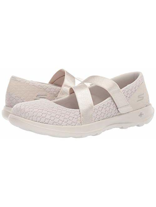 Skechers Women's Go Walk Lite-15467 Mary Jane Flat
