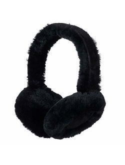 Winter Sheepskin Ear Muffs, Australian Wool Ear Warmer, Outdoor Classic Soft Earmuffs, One size