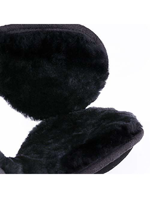 Winter Sheepskin Ear Muffs, Australian Wool Ear Warmer, Outdoor Classic Soft Earmuffs, One size