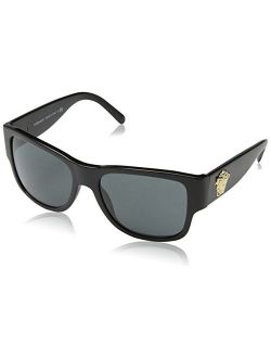 Sunglasses Ve4275 Gb1/87 Acetate Black - Gold Black 58-18-140