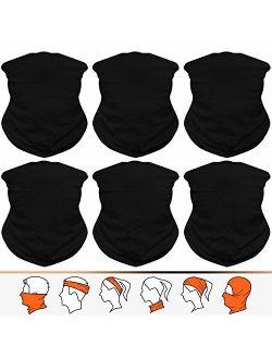 JOEYOUNG Headwear, Bandana, Neck Gaiter, Head Wrap, Headband for Men and Women, Multifunctional Head Scarf, Face Mask, Balaclava, Magic Scarf, Sweatband for Fishing, Yoga