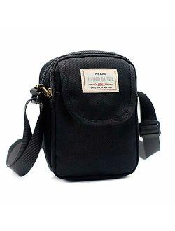 Gcepls Canvas Small Cute Crossbody Women Cell Phone Purse Wallet Bag