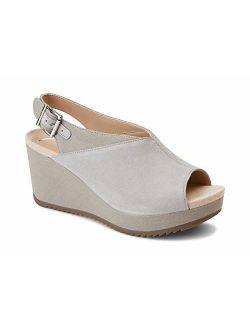 Women's Hoola Trixie Wedge - Ladies Concealed Orthotic Support Platform Sandal