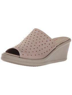 Cali Women's Rumblers Silky Smooth Wedge Sandal