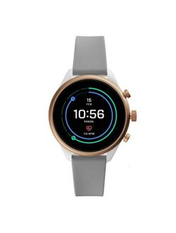 Women's Sport Metal And Silicone Touchscreen Smartwatch With Heart Rate, Gps, Nfc, And Smartphone Notifications