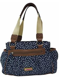 Lily Bloom Triple Section Landon Multi-Purpose Satchel Bag
